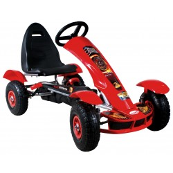Go-cart Formula Sport red