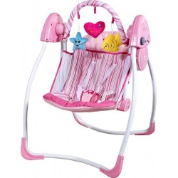 Swing electric automatic Heart pink