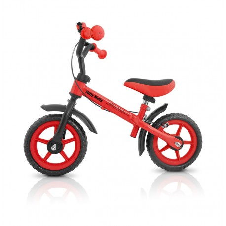 DRAGON - balance bike with brake - red