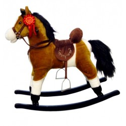 Rocking horse Mustang Light Brown