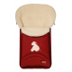 NATURAL SHEEP WOOL footmuff cosytoes North Pole exclusive