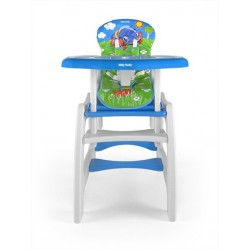High chair with play table conversion Jungle