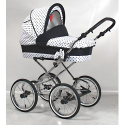 Classic pram Guilletta 3 in 1 travel system