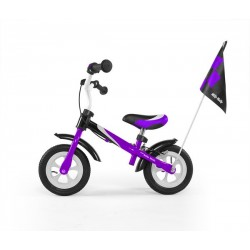 Dragon deluxe- balance bike with brake - purple
