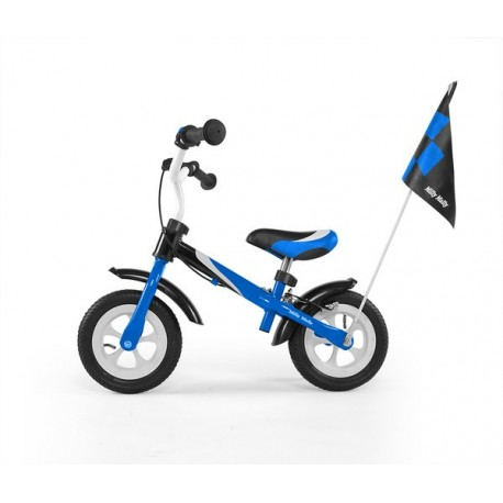 Dragon deluxe - balance bike with brake - blue