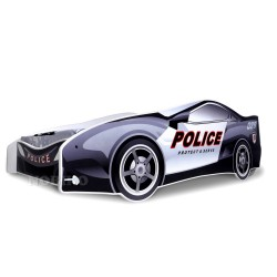 Police Car junior bed with mattress 180x80