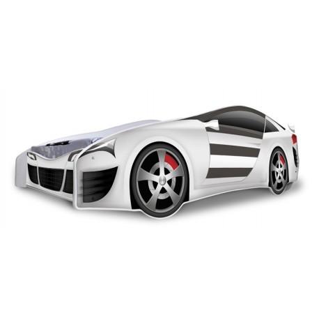 Silver Racing Car junior bed