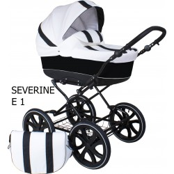 Classic pram Severine 3 in 1 travel system