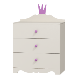 Dresser Princess - 3 drawers