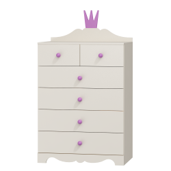 Dresser Princess - 6 drawers