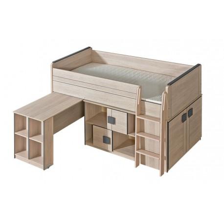 Loft bed GUMI 200x90 cm