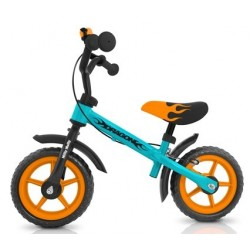 Dragon - balance bike with brake - blue-orange