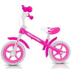 Dragon - balance bike with brake - pink
