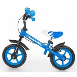 Dragon - balance bike with brake - blue