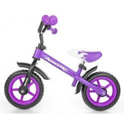 Dragon - balance bike - purple