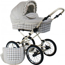Classic pram Belletti 3 in 1 Linen Collection