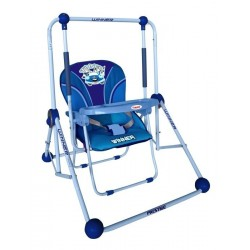 Swing and chair 2 in 1 blue