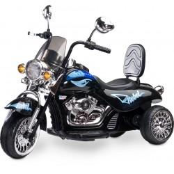 Electric ride-on Chopper Motorbike Rebel Black