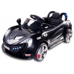 Electric ride-on car Aero 12V black with remote control