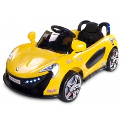 Electric ride-on car Aero 12V yellow with remote control