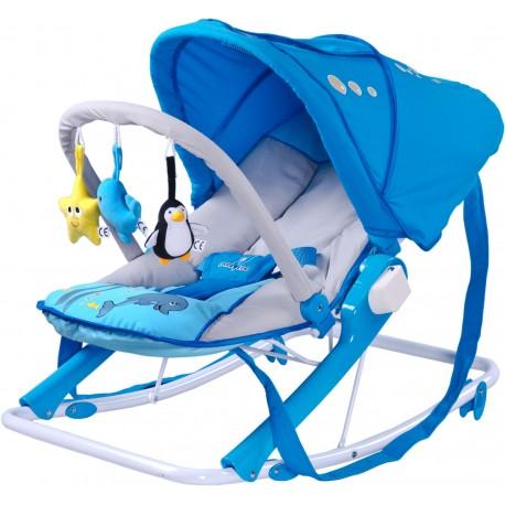 Swing bouncer Aqua blue