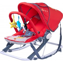Swing bouncer Aqua red