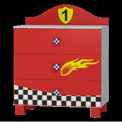 Dresser Super Speed - 3 drawers