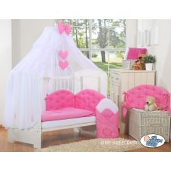 Duvet, Pillow, Bumper and Canopy set Chic