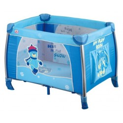 Playpen and travel cot Mirage Alu Bear