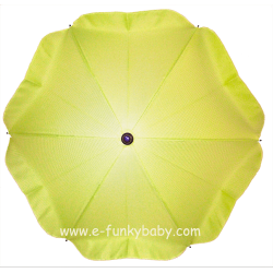 Umbrella for stroller Green Lime