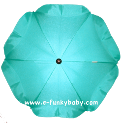 Umbrella for stroller Turquoise