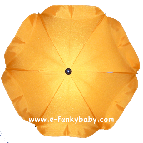 Umbrella for stroller Yellow