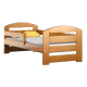 Pine wood junior bed Kam3 160x70 cm