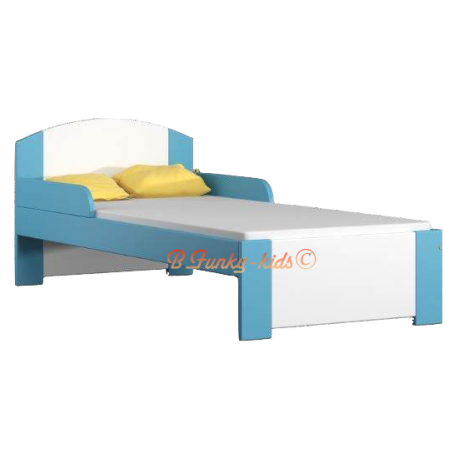 Solid pine wood junior bed Bil1 160x80 cm