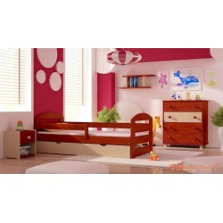 5 pcs co-ordinating pine wood furniture KAM3 180x80 cm