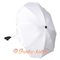 Umbrella for stroller White