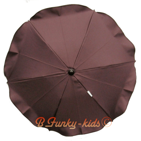 Umbrella for stroller Brown