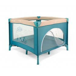 Square Playpen Fun Blue Beach