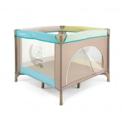 Square Playpen Fun Blue Safari