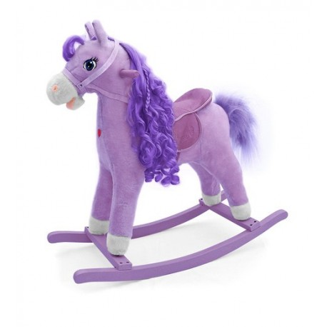 Rocking horse Purple Princess