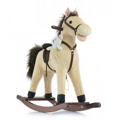 Rocking horse Mustang beige