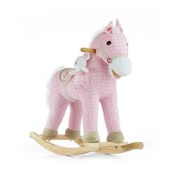 Rocking horse Pony pink