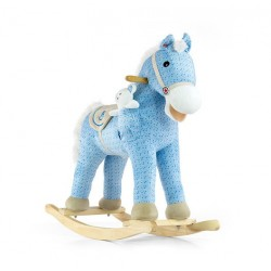 Rocking horse Pony blue