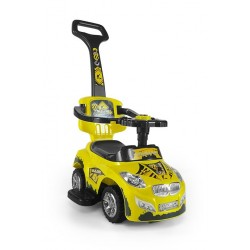Ride-on car 3 in 1 HAPPY yellow