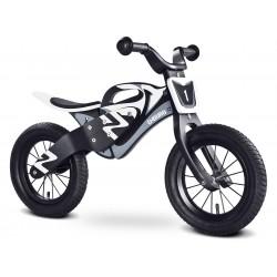 Balance bike enduro white black