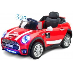 Electric ride-on car Maxi 12V red with remote control