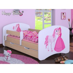 Toddler junior bed Happy Pear Collection with drawer and mattress