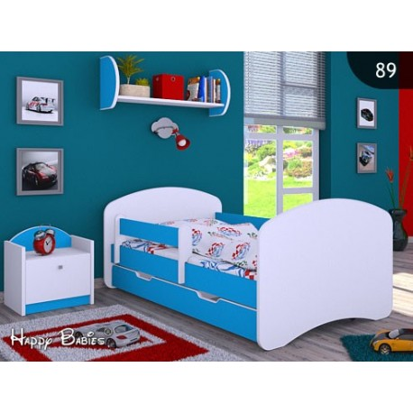 Bed Happy Collection with drawer and mattress