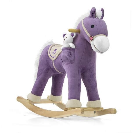 Rocking horse Pony purple