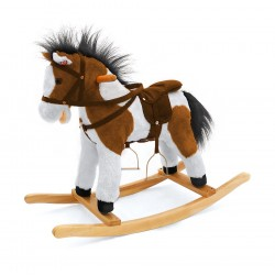 Rocking horse Pony Dark Brown